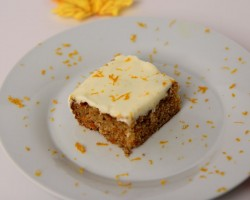Carrot Cake Bars Recipe – Laura Vitale – Laura in the Kitchen Episode 465