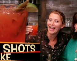 Cocktails with Jenn from Cupcakes&Cardio! The Caesar!