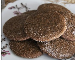 Ginger Snap Cookies – Crispy Ginger Snaps Recipe