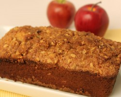 Homemade Apple Bread Recipe – Laura Vitale – Laura in the Kitchen Episode 487