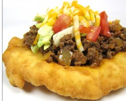 Homemade Indian Tacos and Indian Frybread Recipe
