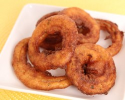 Homemade Onion Rings Recipe – Laura Vitale – Laura in the Kitchen Episode 606