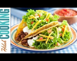How To Make Tacos!!! – Crispy Beef Taco Recipe