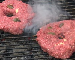 Jalapeno Buffalo Cheeseburgers by the BBQ Pit Boys