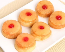 Mini Pineapple Upside Down Cakes Recipe – Laura Vitale – Laura in the Kitchen Episode 771