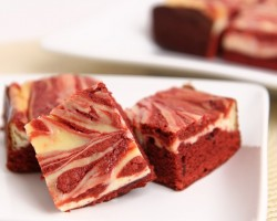 Red Velvet Cheesecake Brownies Recipe – Laura Vitale – Laura in the Kitchen Episode 731
