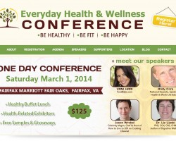Everyday Health & Wellness Conference – Join me LIVE on the East Coast March 1st!