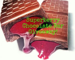 Superberry Chocolate Bar Giveaway!!!