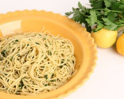 Lemon & Herb Spaghetti Recipe – Laura Vitale – Laura in the Kitchen Episode 912