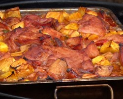 Apple Ham Casserole by the BBQ Pit Boys