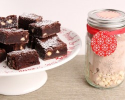 DIY Chewy Brownie Mix – Edible Gifts