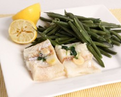 Nonna's Easy Steamed Cod & Green Beans – Laura Vitale – Laura in the Kitchen Episode 1016
