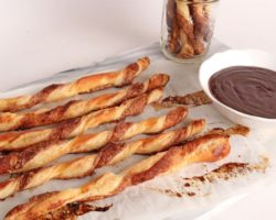 Baked Churro Twists with Chocolate Sauce | Episode 1073