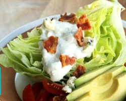 How to Make a Wedge Salad |  Hilah Cooking