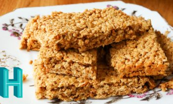 How to Make Chewy Granola Bars | Hilah Cooking