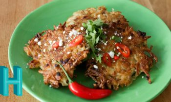 Spicy Tex-Mex Latkes  for Hanukkah! Hilah Cooking