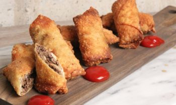 Cheesesteak Egg Rolls Recipe | Episode 1128