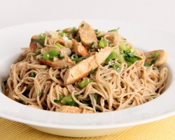 Sesame Noodle Salad with Grilled Chicken Recipe – Laura Vitale – Laura in the Kitchen Episode 957